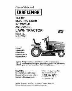 Craftsman Mower Model 917 Diagram  U2014 Untpikapps