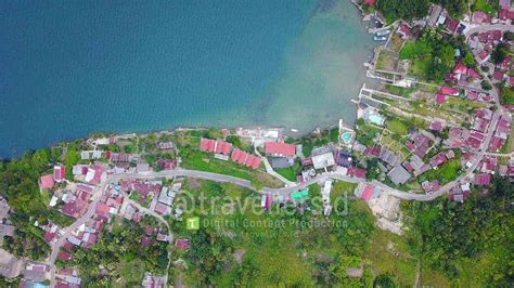stock of tuktuk village samosir island lake toba sumatera travellersid