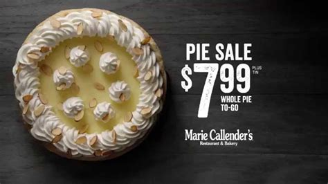 Marie Callender's Pie Sale $7.99* plus tin - YouTube