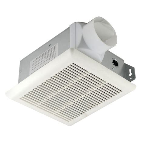 home depot vent fan hton bay 70 cfm ceiling exhaust bath fan bpt12 13d