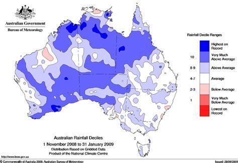 surface minimum bureau below average rainfall possible in southwest australia in