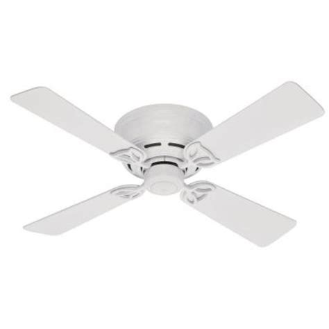 Low Profile Ceiling Fan Home Depot by Low Profile Iii 42 In White Ceiling Fan