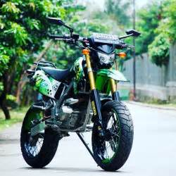 Kawasaki Motard by Kawasaki Klx Supermoto Next Trip By Rachmanhakim14