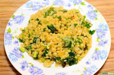 cuisiner le couscous 3 ères de cuisiner le couscous israélien wikihow
