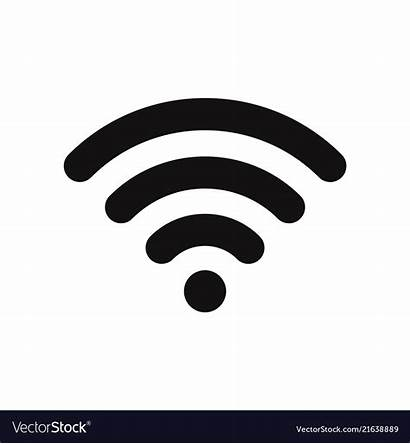 Wifi Signal Icon Vector Wireless Symbol Connection