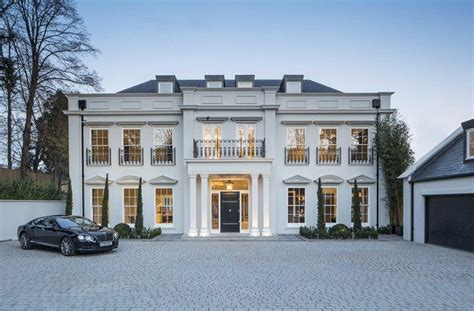 A 12,000 Square Foot Newly Built Mansion In