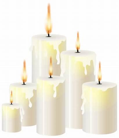 Candle Candles Transparent Clipart Clip Pillar Flame