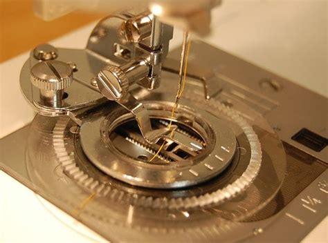 stitchery sewing machine attachments needle  thread flower stitch attachment foot