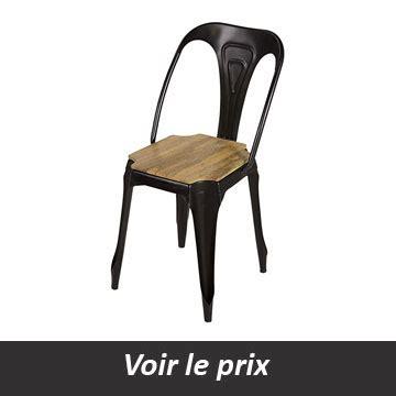 chaises style industriel quelle chaise style industriel choisir pour un look atelier