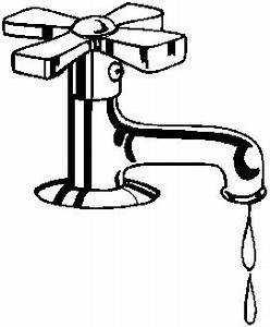 Drinking Water Clipart Black And White - ClipartXtras