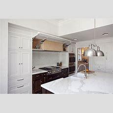 Concealed Kitchen Hood  Transitional  Kitchen  Thomas