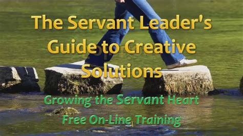 gtsh  servant leaders guide  creative solutions