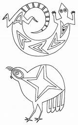 Pottery Coloring Native American Pages Mimbres Printable Designs Symbols Animals Getcolorings Animal Southwest Drawing Open Bowls Uploaded User Discover sketch template