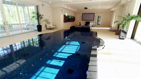 million dollar rooms home theater  swimming pool video