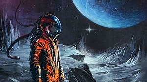 space suit, fantasy art, science fiction :: Wallpapers