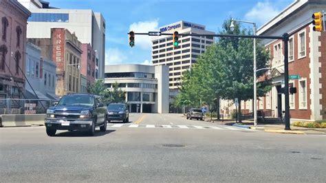 driving downtown montgomery alabama usa youtube