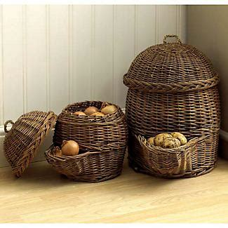 Potato Willow Storage Basket   Lakeland