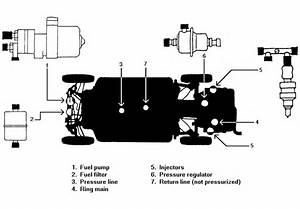 Superbeetle Stock Fuel Injection Setup