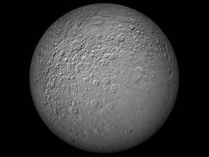 Animation of Saturn's Moon Rhea