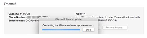 contacting the iphone software update server contacting the iphone software update server go update Conta