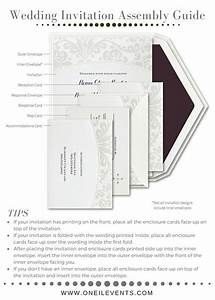 proper way to assemble wedding invitations mini bridal With order of wedding invitation stuffing