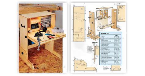 hobby desk plans woodarchivist