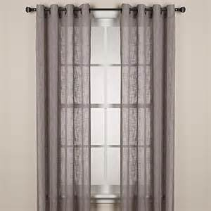alton solid grommet window curtain panel bed bath beyond