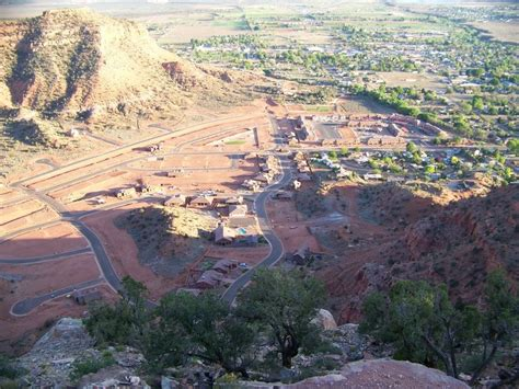 View Of Kanab Ut From Cell Tower Photo