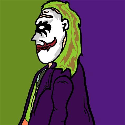cartoon heath ledger joker  spiritofthewolf  deviantart