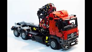 Lego Technic Erwachsene : lego technic mercedes arocs hook lift youtube ~ Jslefanu.com Haus und Dekorationen