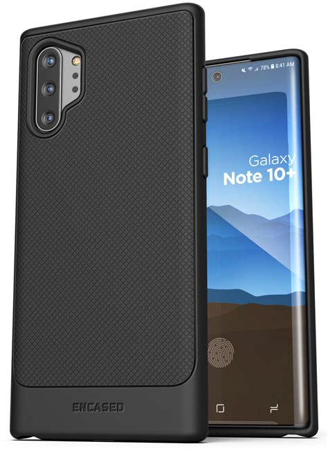 galaxy note   thin armor black case  holster