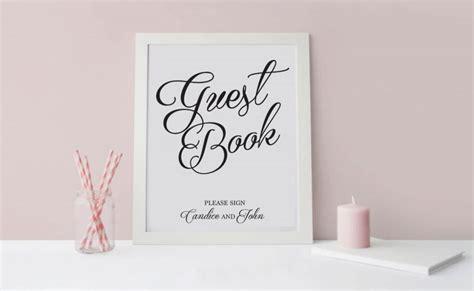 Elegant Guest Book Sign