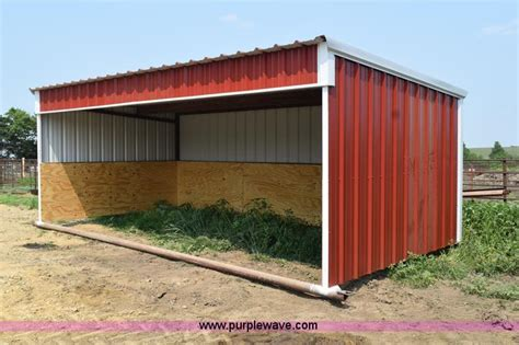 cattle sheds for sale portable cattle shed item k6087 sold july 29 ag