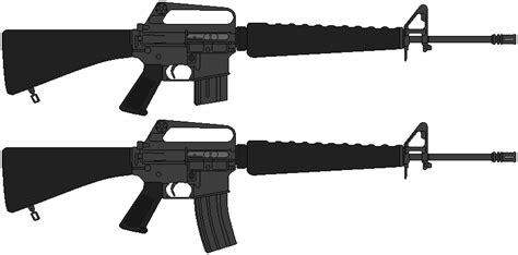 Colt M16A1 by DaltTT on DeviantArt