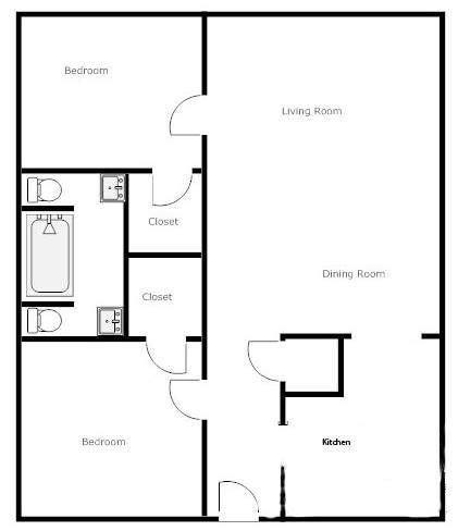 apartments simple open plan house designs barn house simple 2 bedroom house plans search house plans