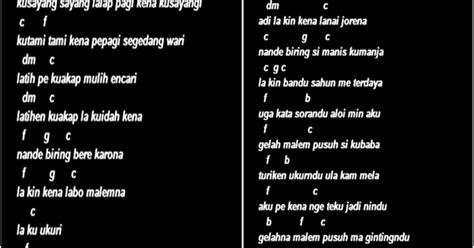 Chord Lyrics Lagu Karo Antha Prima