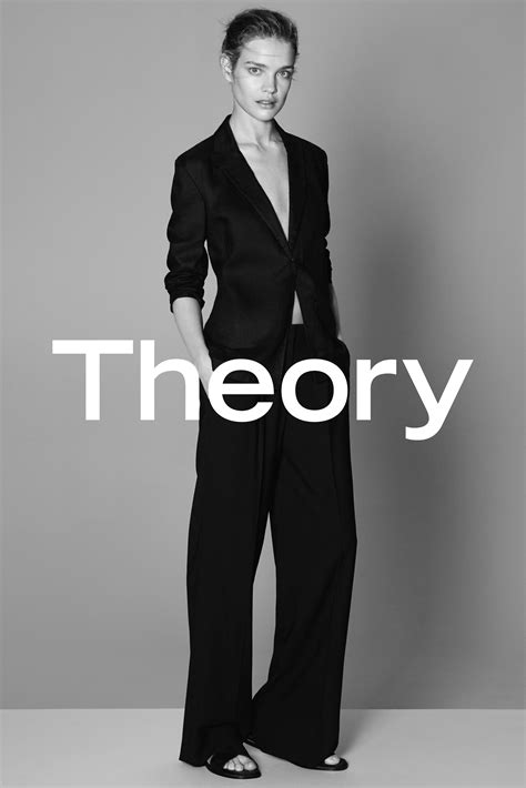 theory unveils  logo   spring summer  campaign