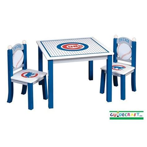 chicago cubs children s table and chairs set 716243117183