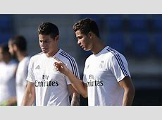 Real Madrid stars Cristiano Ronaldo and James Rodriguez to