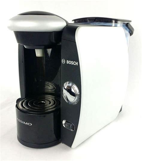4 month old bosch tassimo style coffee machine. BOSCH Tassimo TAS4511UC Single Serve Coffee Pod Machine Maker Black Silver #Bosch | Pod coffee ...