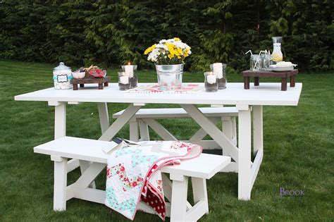 white providence bench diy projects