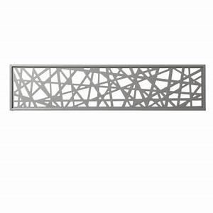 Panneau Led Castorama : panneau d cor en alu idaho gris clair 177 x 42 cm castorama ~ Teatrodelosmanantiales.com Idées de Décoration
