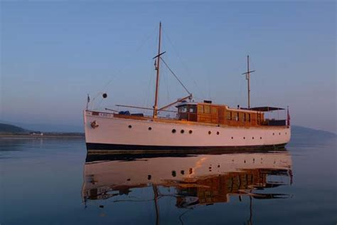 Motor Boats For Sale West Coast Scotland by Motor Yacht Chico Classic Motor Yacht Cruises The