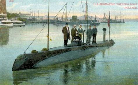 When Was The Boat Invented by The Who Invented The Submarine America