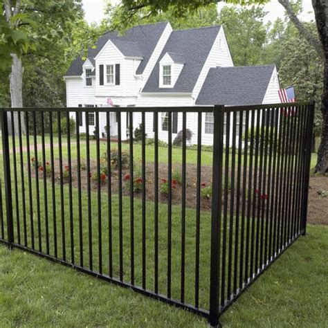 fencing materials cost install an aluminum fence