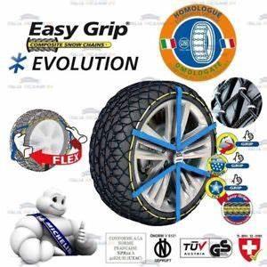 Chaine 205 60 R16 : catene neve michelin easy grip evolution 9 misura 205 60 ~ Melissatoandfro.com Idées de Décoration