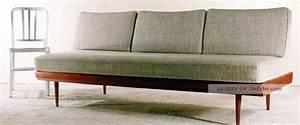 Knoll Antimott Sofa : 60er walter knoll teak daybed sofa couch dreisitzer 50er ~ Sanjose-hotels-ca.com Haus und Dekorationen