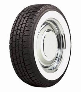 Wide Whitewall Low Profile Radial Vintage Tire By American