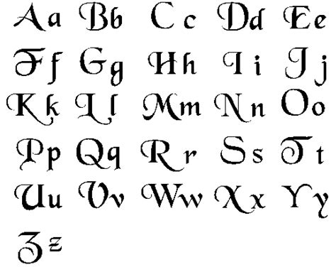 lettering styles  making   quill