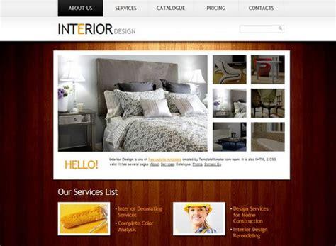 interior design portfolio template 40 great free portfolio designs css html